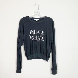 Spiritual Gangster   pullover graphic sweatshirt M